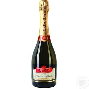 Oreanda white dry champagne 12,5% 0,75l