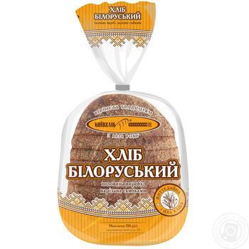 Хлеб Киевхлеб Белорусский половина нарезка 350г - купить, цены на Novus - фото 3