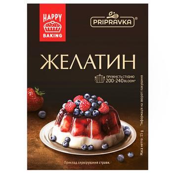 Pripravka Instant Food Gelatin 15g - buy, prices for CityMarket - photo 1