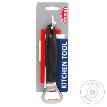 Открывалка Domus для бутылки с пластиковой ручкой 15.5см - купить, цены на Фуршет - фото 1