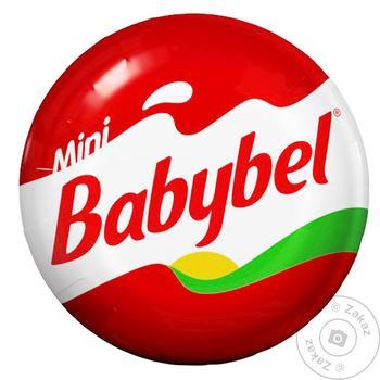 Сир Babybel Mіні напівтвердий 45% 20г - купити, ціни на Ашан - фото 1
