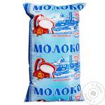 Молоко Українська зірка 900 г 2,5% т/ф