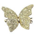 Заколка Dini Hand Made Бабочка золотая для волос d-276