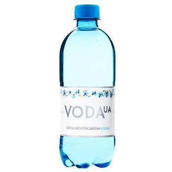 Вода Voda UA Карпатская высокогорная родниковая минеральная негазированная 0.5л