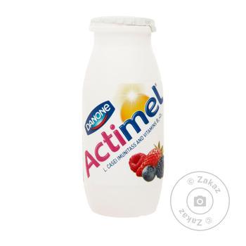 Продукт кисломолочный Danone Actimel лесные ягоды 1,5% 100г - купить, цены на Ашан - фото 2