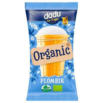 Мороженое Dadu Пломбир Органик в стаканчике 120мл