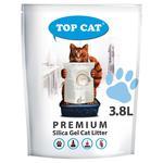 Top Cat Premium Silica Gel Cat Litter 3,8l