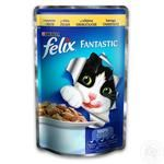 Food Felix with chicken for cats