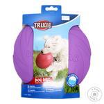 Летающая тарелка Trixie для собак резиновая 22м