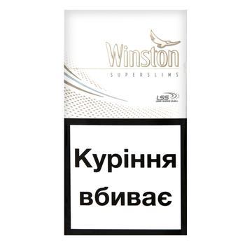 Сигареты Winston White Super Slims - купить, цены на ЕКО Маркет - фото 2