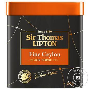 Lipton Yellow Sir Thomas black tea 100g - buy, prices for MegaMarket - image 1