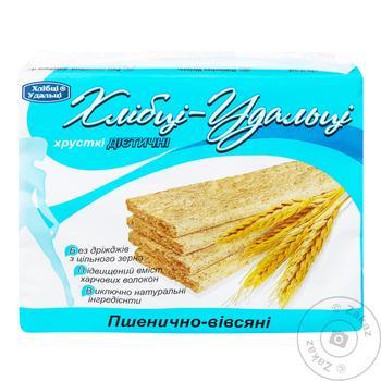 Хлібці Удальці пшенично-овсяные диетические 100г