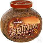 Кофе Ambassador Platinum растворимый 95г