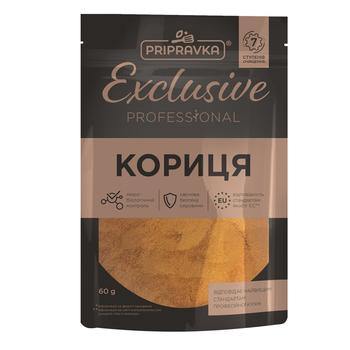 Pripravka Exclusive Professional ground cinnamon 60g - buy, prices for CityMarket - photo 1