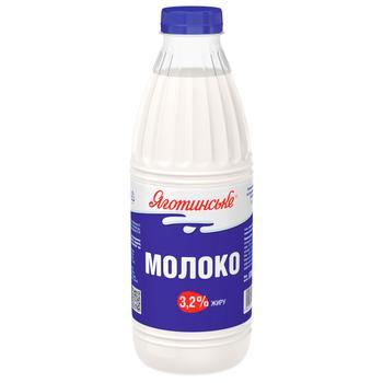 Yagotynske Pasteurized Milk 3,2% 870g - buy, prices for CityMarket - photo 1