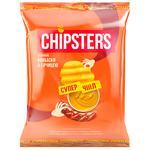Чипсы Chipsters Колбаски с горчицей 110г