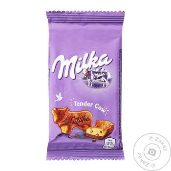 Пирожное Milka с кусочками молочного шоколада 28г