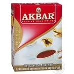 Black tea Akbar Ceylon Favorite large leaf 100g