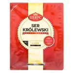 Сыр Sierpc Королевский твердый порционный 45% 150г