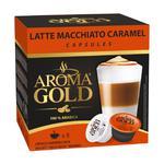 Кофе Aroma Gold Latte Machiatto Caramel молотый в капсулах для кофемашин 1180г