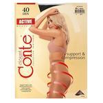 Колготи жiночi Conte Active 40ден р.4 Nero - купити, ціни на CітіМаркет - фото 2