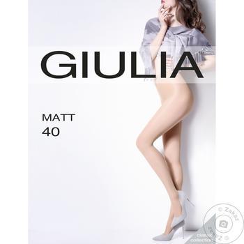 Колготи жіночі Giulia matt 40ден - купити, ціни на Таврія В - фото 1