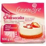 Creamoire With Strawberry Sauce Cheesecake Dessert 100g