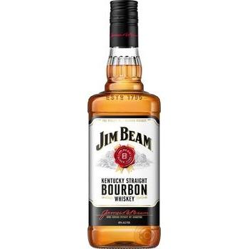 Whiskey Jim Beam White Bourbon 40% 0,7l - buy, prices for Auchan - photo 1