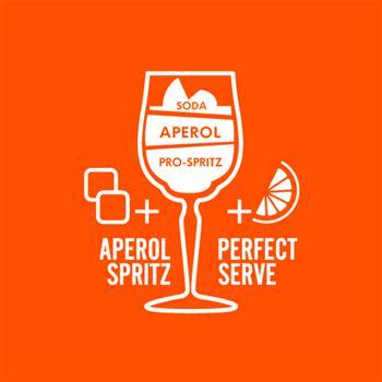 Аперитив Aperol Aperetivo 11% 0,7л - купить, цены на УльтраМаркет - фото 4