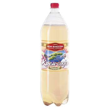 Напиток Бон Буассон Крем-Сода 2л