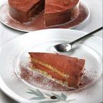 Шоколадный торт с фисташками и оливковым маслом