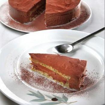 Шоколадний торт із фісташками і оливковою олією