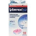 Таблетки для посудомийної машини Vortex All in 1 10шт - купити, ціни на Novus - фото 2