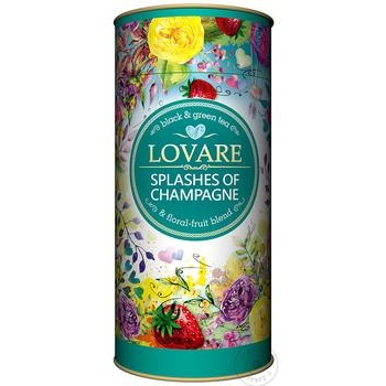 Lovare Splashes of Champain Black Tea - buy, prices for MegaMarket - image 1