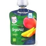 Gerber Organic mango puree 90g