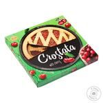 Biscuit Chocolate Сrostata With Cherry Shortbread 370g