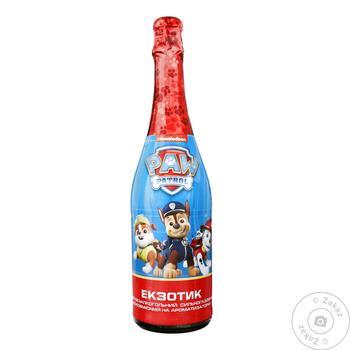 Дитяче шампанське Paw Patrol Екзотик 0.75л - купити, ціни на Ашан - фото 1