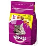 Корм Whiskas с курицей для взрослых котов 300г