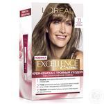 Крем-краска для волос L'Oreal Excellence Creme 7.1 русый пепельный