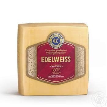 Сыр Клуб Сыра Эдельвейс 45% - купить, цены на Фуршет - фото 1