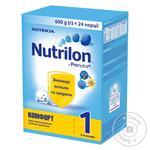 Суміш молочна Nutricia Nutrilon Комфорт 1 суха з 0 до 6 місяців 600г