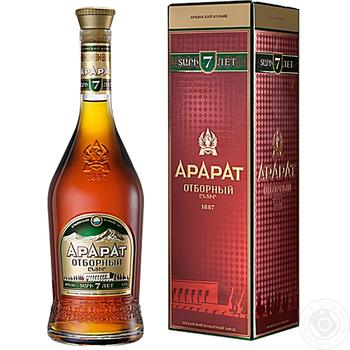 Ararat Selected 7 Yrs Cognac 40% 0.7l - buy, prices for Novus - image 3