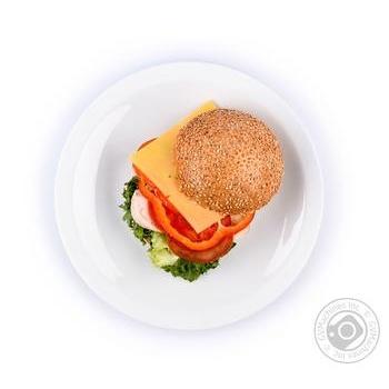Гамбургер с курицей - купить, цены на Novus - фото 1