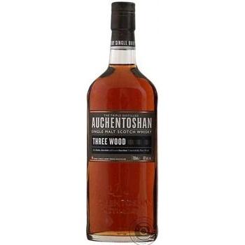 Виски Auchentoshan Three Wood 8 лет 43% 0.7л - купить, цены на Novus - фото 1
