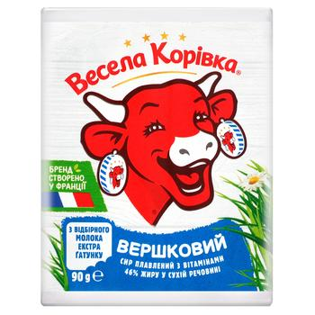 Vesela Korivka Processed сream cheese 46% 90g - buy, prices for Auchan - image 2
