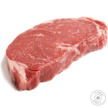 Стейк яловичий зі стегна охолоджений - купити, ціни на Novus - фото 1
