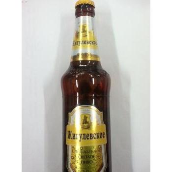 Пиво Лидское Жигулевское специальное светлое 5.2%об. стеклянная бутылка 500мл Белоруссия