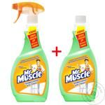 Mr Muscle Means For Washing Glass 0.5L