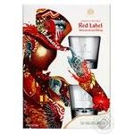 Whiskey Johnnie walker Red label 40% 700ml in a box