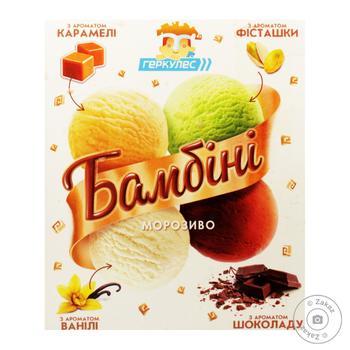 Мороженое Геркулес Бамбини 500г - купить, цены на Novus - фото 1